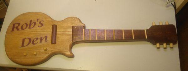 Guitar sign